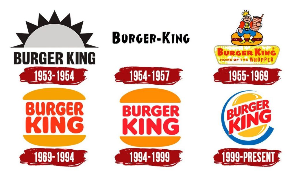 Burger King rebrand old logos