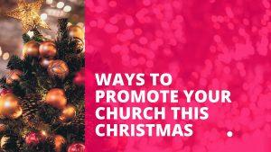 Peanut Designs Ways to Promote your Church This Christmas Blog Christmas Tree