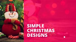 Pnut Blog Simple Christmas Design